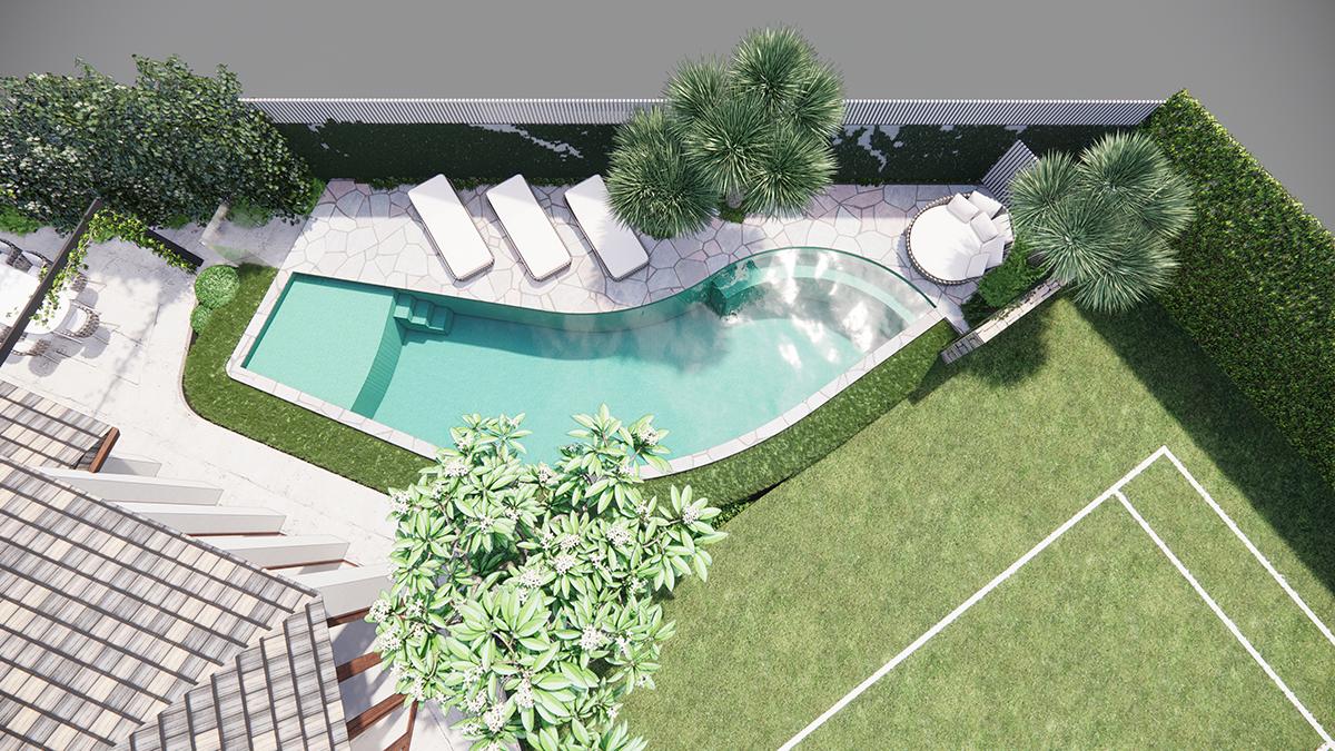 Dalkeith pool design